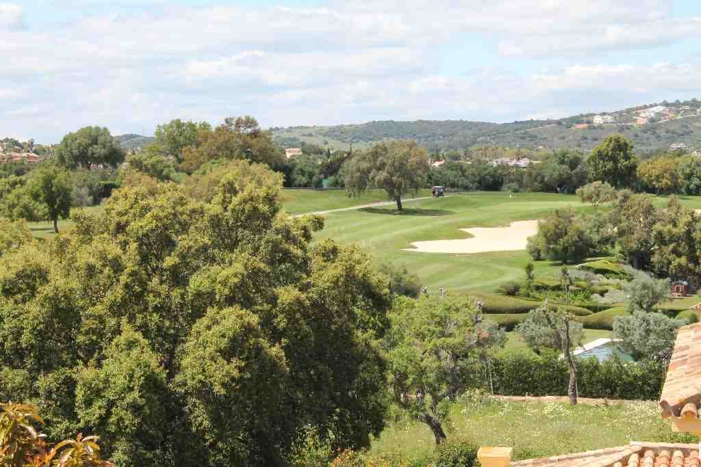 Casa Roble Golf view - San Roque Old Course